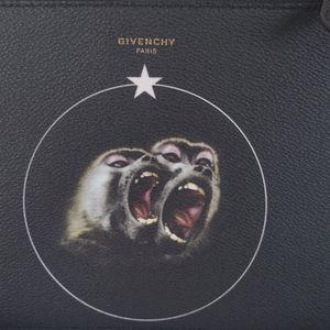 Givenchy  Zipped Pouche Monkey Brothers Zipped Pou